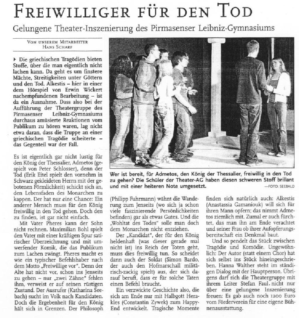 Pirmasenser Zeitung